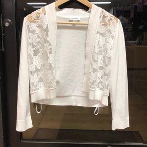 Calvin Klein Sweaters - White Calvin Klein cardigan